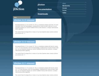 jdiction.org screenshot