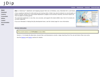 jdip.sourceforge.net screenshot