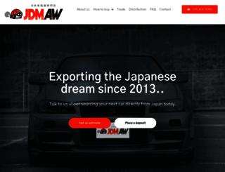 jdmauctionwatch.com screenshot