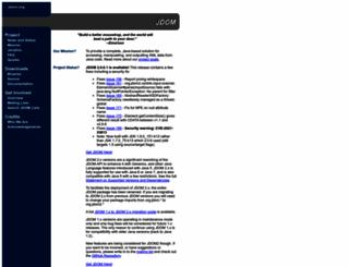 jdom.org screenshot