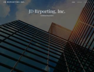 jdreporting.co screenshot