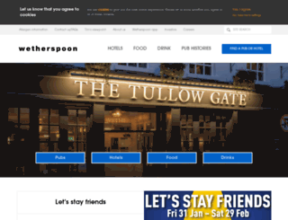 jdwetherspoon.co.uk screenshot