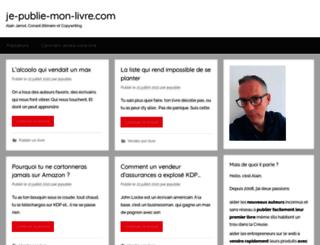 je-publie-mon-livre.com screenshot