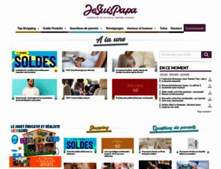 je-suis-papa.com screenshot