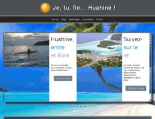 je-tu-ile-huahine.com screenshot