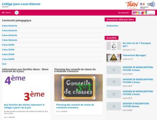 jean-louis-etienne-mazamet.entmip.fr screenshot