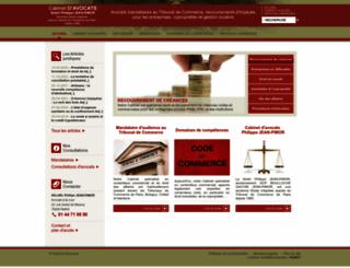 jean-pimor-avocats.fr screenshot