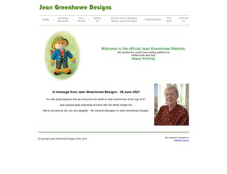 jeangreenhowe.com screenshot