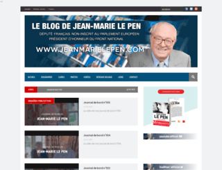 jeanmarielepen.com screenshot