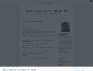 jeanmichelb.unblog.fr screenshot