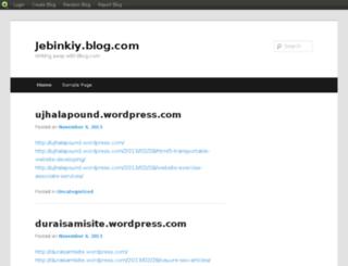 jebinkiy.blog.com screenshot