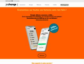 jechange.com screenshot