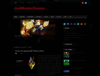 jedimastergames.blogspot.com screenshot