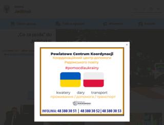 jedlinsk.pl screenshot