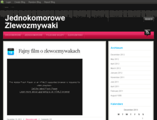 jednokomorowy.blog.com screenshot