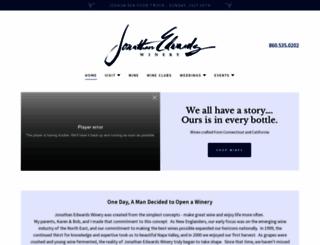jedwardswinery.com screenshot