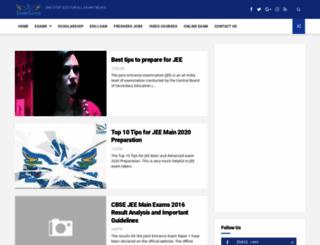 jee.examsavvy.com screenshot