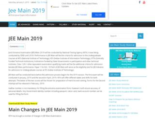 jeemain.info screenshot
