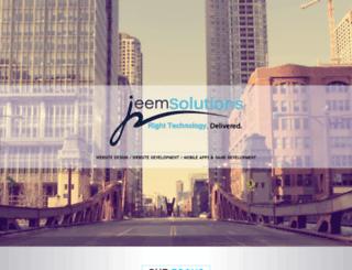 jeemsolutions.com screenshot