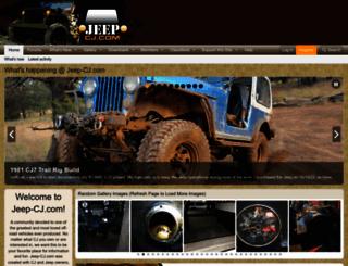 jeep-cj.com screenshot