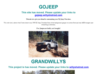 jeep-xj.info screenshot