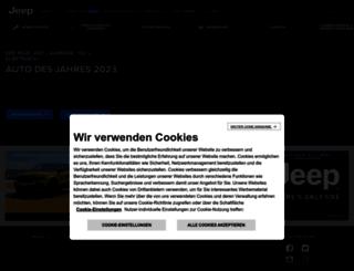 jeep.ch screenshot