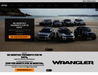 jeep.com screenshot