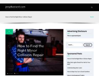 jeepbastard.com screenshot