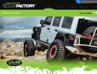 jeepfactory.com screenshot