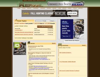 jeepforumz.com screenshot