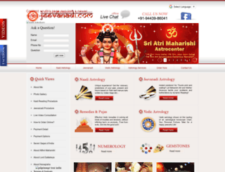 jeevanadi.com screenshot