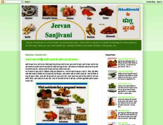 jeevansanjivani.blogspot.in screenshot