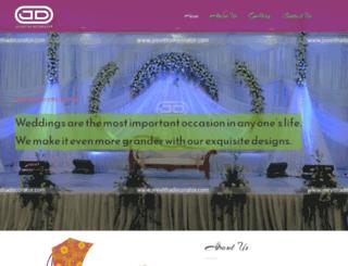 jeevithadecorator.com screenshot