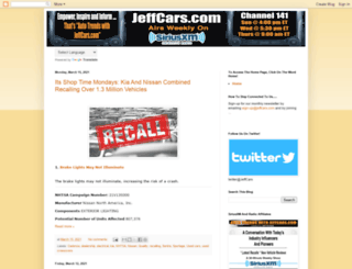 jeffcars.blogspot.ca screenshot