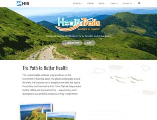 jeffco.healthtrails.com screenshot