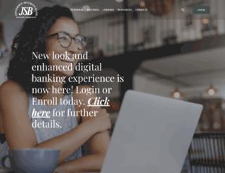 jeffersonsecuritybank.com screenshot
