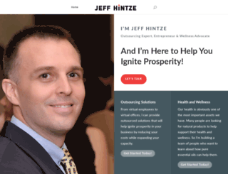 jeffhintze.com screenshot