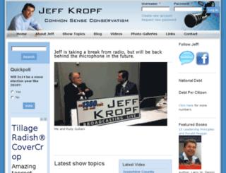 jeffkropf.com screenshot