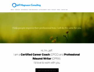 jeffmagnusonconsulting.com screenshot