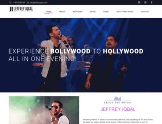 jeffreyiqbal.com screenshot