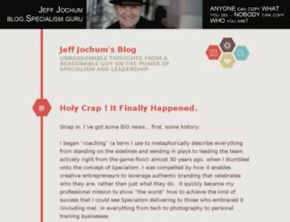 jeffreyjochum.wordpress.com screenshot