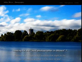 jeffreymeyerphotography.ca screenshot