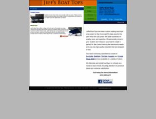 jeffsboattops.com screenshot