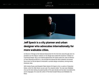 jeffspeck.com screenshot
