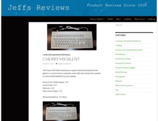 jeffsreviews.com screenshot