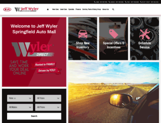 jeffwylerspringfield.com screenshot