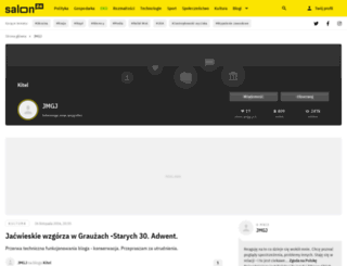 jegle.salon24.pl screenshot