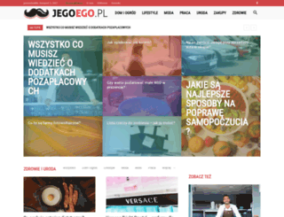 jegoego.pl screenshot