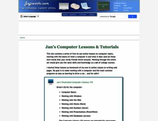jegsworks.com screenshot