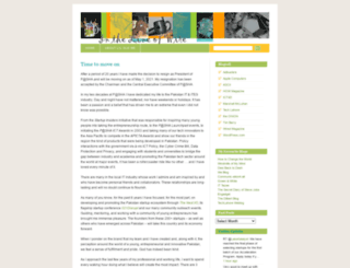 jehanara.wordpress.com screenshot